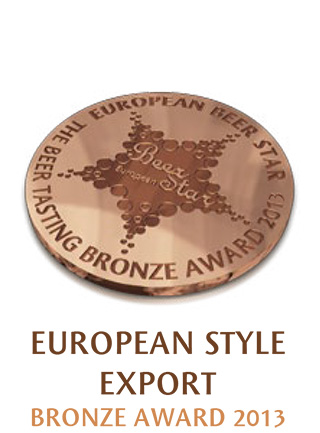 European Style Export Bronzemedaille 2013